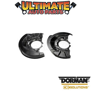 Dorman: 924-998 - Left and Right Front - Brake Dust Shield / Backing Plate