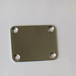 Harley Benton Halsplatte (Neck Plate) für Schraubhälse (Gitarre / Bass)