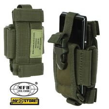 Tasca Porta Radio Cellulare Smartphone Regolabile MOLLE MFH da Cintura SOFTAIR O