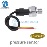 DC5V 0-1.2 MPa G1/4 Pressure Transducer Sensor For Oil Fuel Diesel Gas Water Air
