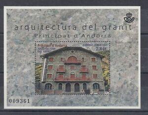 Spanish Andorra Block 10 Hotel Rosaleda (MNH)