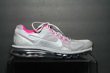 Nike Air Max 2013 LE Running Multi Grey Hot Pink Women 11 Athletic Training EUC