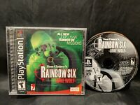 Tom Clancy's Rainbow Six: Lone Wolf (Sony PlayStation 1, 2002) PS1 Complete Game