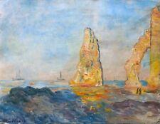Albert Lebourg, école de Rouen, impressionnisme, marine