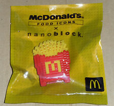 McDonald's x Nanoblock 2015 Food Icon (Malaysia) - Fries