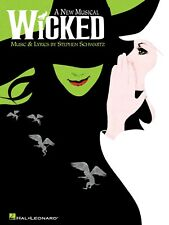 WICKED THE BROADWAY MUSICAL PIANO VOCAL SHEET MUSIC BOOK