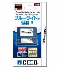 HORI 3DS-433 Blue-light Cut & Air-Zero Screen Films for NEW Nintendo 3DS LL (XL)