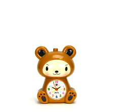 Adorable Baby in Bear Robe Kids Musical Alarm Clock - Children Room Decoration