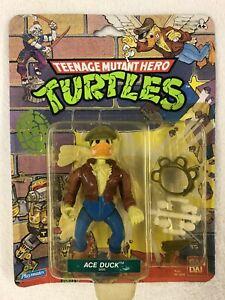 1988 Teenage Mutant Hero Ninja Turtles ACE DUCK MOC!! Bandai Playmates 5055