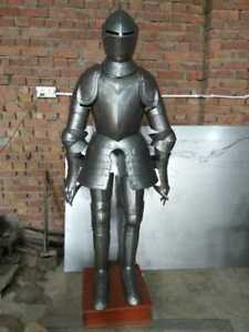 Medieval 18 ga Plate Armor Knight Full Body Armor Suit Battle Ready suit