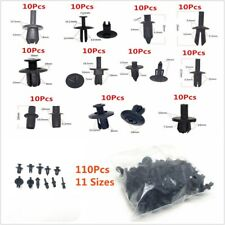 110Pcs 11Types Auto Car Push Retainer Pin Rivet Trim Clip Car Body Fasteners