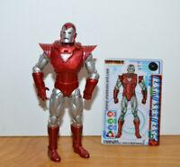 "MARVEL UNIVERSE IRON MAN SILVER CENTURION Action Figure 3.75"" 2010 Hasbro Movie"