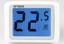 Digital Room Thermostat Touch Screen Backlit Heating Stat Grasslin Thermio Touch