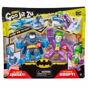 Heroes of Goo Jit Zu DC Superheroes - Batman vs The Joker Versus Pack