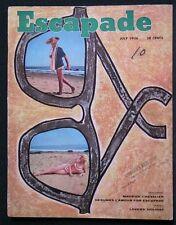 ESCAPADE,JULY, 1956, VOL.1,#10- GERRY MULLIGAN