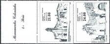 Mexico 1885-1888 Vijf strippen, geknikt postfris 1983 Bouwen uit Colonial