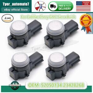 4PCS 52050134 Parking Sensor Bumper Aid Backup PDC for GM Silverado 23428268