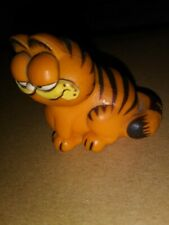 Vintage-Garfield CAT Figurine-Hard Plastic-1978-1981-United Feature Syndicate
