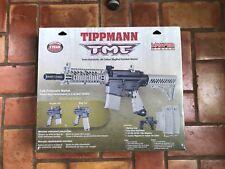 Tippmann TMC Paintball Gun Includes 7 Magazines and 1 Hopper Feed Neck Adapter