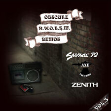 OBSCURE N.W.O.B.H.M Demos Vol.3 CD (NEW *LIM.500*SAVAGE*AXE VICTIMS*ZENITH)