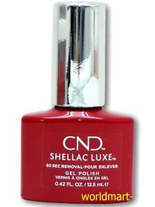 CND SHELLAC LUXE Gel Color NEW FORMULA 0.42fl.oz-12.5ml/ Choose Any Color