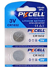 ☀️☀️☀️☀️☀️ 2 x CR1632 3V Lithium Batterie auf 1 Blistercard a 2 Stück PKCELL