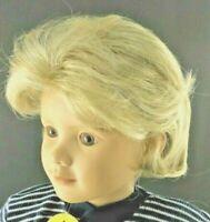Monique DIANA Blonde Full Adj. Cap Doll Wig Size 12-13 Short Boy or Girl