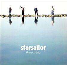 Silence Is Easy Starsailor MUSIC CD