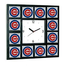 promo Chicago Cubs around the Clock with 12 surrounding images