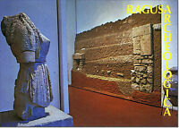 CARTOLINA SICILIA POSTCARD SICILY RAGUSA  MUSEO ARCHEOLOGICO