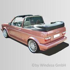 VW Cabrio Mk1 1979-1993 CONVERTIBLE WIND DEFLECTOR wind stop screen (Bodi XLC)