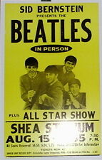 "The Beatles Concert Poster - 1965 - The Shea Stadium Show - 14""x22"""