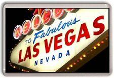 Las Vegas Nevada Fridge Magnet 01
