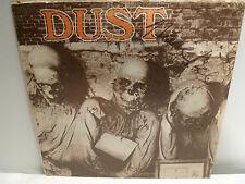 VINTAGE 1971 DUST LP-SIGNED MARC BELL (MARKY RAMONE) RAMONES-70s METAL-RARE