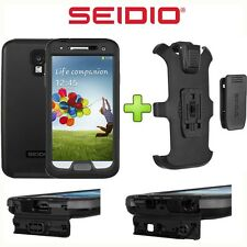 Seidio OBEX Combo Samsung Galaxy S4 S IV WaterProof Rugged Case Cover & Holster