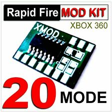 XBOX 360 Rapid Fire MOD CHIP, DiY Modded Controller, COD one PRO,  XMOD 20 MODES