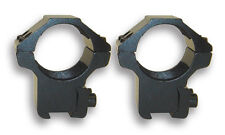 "NcSTAR 1"" Dovetail Scope Ring Medium Profile Fit 3/8 Mounts Bases ""BLACK"" --RB25"
