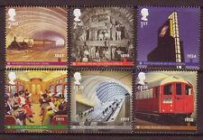 Grande-Bretagne 2013 métro de Londres Ensemble 6 Non montés excellent état, MNH