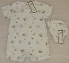 "NEW Le Top Baby ""GO FISH"" Romper with Hat Size New Born NWT"