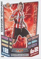 N°268 CONNOR WICKHAM SUNDERLAND.FC TRADING CARD MATCH ATTAX TOPPS 2013
