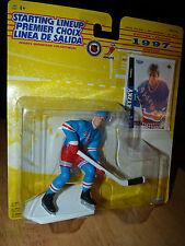 RARE! French 1997 10th Anniversary WAYNE GRETZKY Starting Lineup & Hockey Card!!