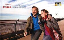 Canon Caméscope HD prospectus brochure 2008 brochure photographica Allemagne