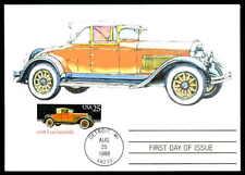 USA MK AUTO OLDTIMER CLASSIC CARS LOCOMOBILE MAXIMUMKARTE MAXI CARD MC CM aa83