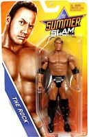 WWE Wrestling Summer Slam 2017 The Rock Action Figure