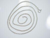 Tolle 835 Silber Kette Erbsenkette Unisex Damen Herren Modern Elegant Top HK