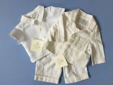 Designer LITTLE DARLINGS 3 Piece Special Occasion Outfit.  Ivory/White 3 months