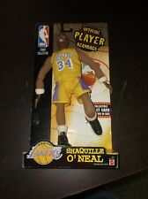 1999 SHAQUILLE ONEAL OFFICIAL PLAYERS BEANBAG NEW ON CARD LOS ANGELES LAKERS