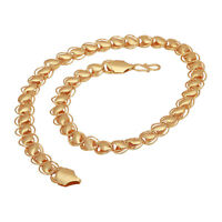 Indian Fashion 22K Gold Plated High quality Heavy weight total 20'' long chain