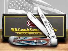 CASE Star Spangled Genuine Corelon 1/500 Trapper Knife