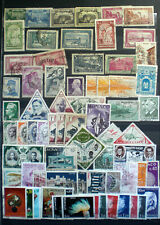 A collection of Monaco stamps catalogue well over £100